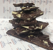 Chocolate Chip Mint Bark 1/4