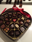 Chocolate Heart Box Large