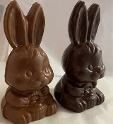 Hollow Chocolate shorty Easter Bunny