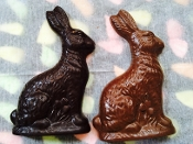 Bunny Tall Solid Chocolate Bunny